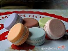 Macarons Porcelana fria / Cold porcelain