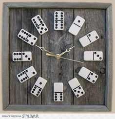 DIY Dominoes clock