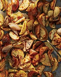 Granny's Roasted Spuds