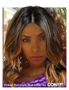 Superb Virtual Hair Makeover Tools And Hair On Pinterest Short Hairstyles For Black Women Fulllsitofus