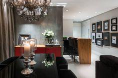 Sala de jantar I Dining Room I Dining Room Design I Dining Room Appliances I Dining Room Decor I Modern Dining Room I Chandelier I Lighting