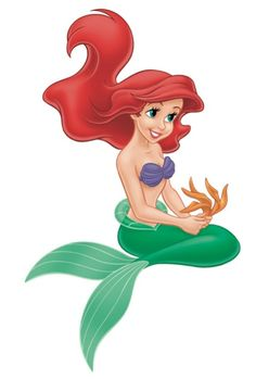 Disney Fact: Artists created an entirely new shade of blue-green for Ariel's shimmering fin.