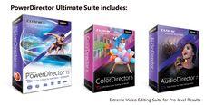 PowerDirector 15 Ultimate Suite [Download]