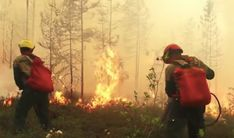 As Siberia Burns, Russia Chokes - Read online for free. While forest fires are no rarity in Siberia, climate scientists stated that this year's fires spread particularly aggressively due to a combination of strong winds and the unusually hot summer. Global Awareness, Actions Speak Louder, Climate Change Effects, Strong Wind, Natural Phenomena, Ecology, Something To Do, Burns, Isaiah 14
