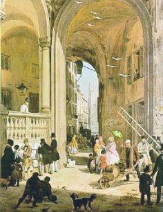 Ottocento, la Milano di Angelo Inganni - labissa.com