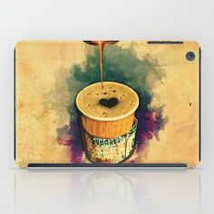 Good Morning Coffee On the Go with Graffitti Wrap – iPad case, Canvas prints, Gift cards, Tote bags, T-shirts, All over T-shirts, mugs, iPhone cases, Laptop sleeves... etc. | Design by Andras Balogh | Sweet Life – Things to Love series | http://andras.design