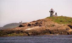 Narraguagus Pond Island Lighthouse    #Lighthouse #Maine #NovaInglaterra #NewEngland #Farol  #Faróis #EUA #USA #EstadosUnidos #Viagem #Leuchtturm #MauOscar