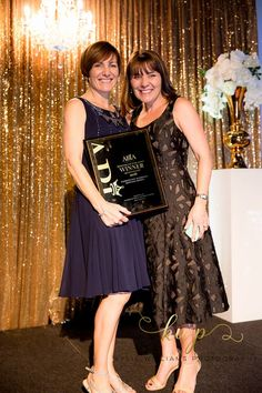 The dynamic sister act at Paddington Weddings taking out the winner yet again at the AIBA awards on Tuesday night for Anne's 'Bertossi Brides' Couture bridal gowns. www.paddingtonweddings.com.au