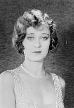 """Delores Costello (17 Sept 1903 - 1 Mar 1979) - American silent film actress born in Pittsburg, PA. She was nicknamed """"The Goddess of the Silent Screen"""" and was a WAMPAS BabY Star in 1926. She first appeared in film in 1909 as a child actress as a fairy in """"A Midsummer Night's Dream"""". She spoke with a lisp and found it difficult to transition to """"talkies""""."""