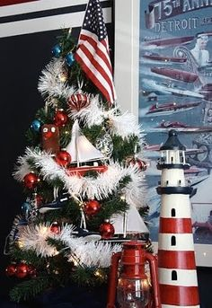 Nautical Christmas Trees:  http://www.completely-coastal.com/2011/12/25-christmas-holiday-trees-inspired-by.html