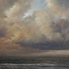 Storm Tide by Mark Kelvin Horton Oil ~ 16 x 16