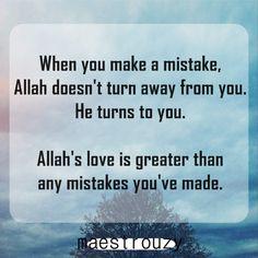 Allah's love...
