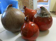Hens, Onion, Ceramics, Fruit, Vegetables, Food, Ceramica, Pottery, Onions