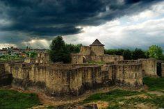 Beautiful Romania : Suceava Fortress.