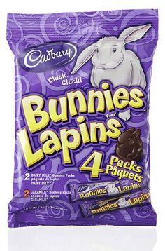 Cadbury Bunnies Easter Baskets, Bunnies, Rabbit, Bunny