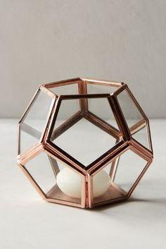 Lanterne en métal- Anthropologie