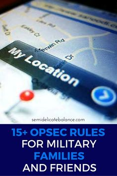 In the military, OPSEC stands for Operational Security. There are rules and guidelines for OPSEC that pertain to services members and their families and friends. Military Girlfriend, Military Spouse, Military Families, Navy Life, Navy Mom, Airforce Wife, Military Deployment, 6 Years, Social Media