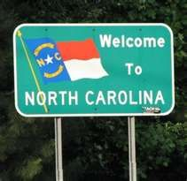 Welcome (Back) To North Carolina -many times through the years.