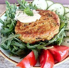 Hamburguesas veganas de berenjena | Cocina