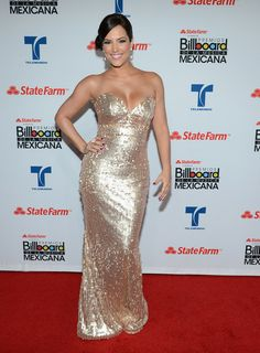 Gaby Espino - 2012 Billboard Mexican Music Awards Presented by State Farm - Press Room