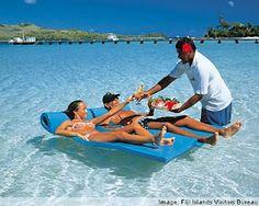 Fiji another honeymoon destination in the top 10 favorites.