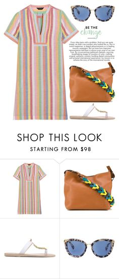 """""""Jul 7th (tfp) 1786"""" by boxthoughts ❤ liked on Polyvore featuring J.Crew, Loewe, Ancient Greek Sandals and tfp"""