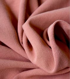 Tissu Lin viscose - Marsala Marsala, Sewing, Craft, Zen, Couture, Inspiration, Pink Fabric, Tissue Types, Back Walkover