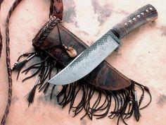 Camp Knife with Shoulder Strap Sheath (Daniel Winkler)