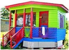 Caribbean Decor, Caribbean Homes, Exterior Paint Colors, Exterior House Colors, Paint Colours, Painted Lady House, Key West House, Belmont House, Key West Beaches