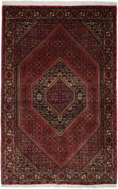 "Bidjar Rust Classic Medallion Carpet CS-M993595174 X 113 Cm. (5'8"" X 3'7"" Ft.) - Carpetsanta"