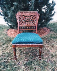 Victorian Style Antique Chair
