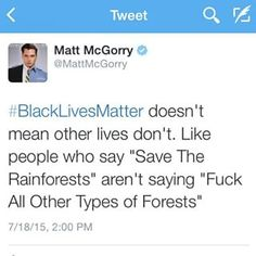 """McGorry began tweeting on Friday evening about how people who say """"All Lives Matter"""" in response to """"Black Lives Matter"""" are inherently undermining the meaning of the latter's movement.   Matt McGorry Has A Few Words For People Who Respond To """"Black Lives..."""