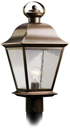 "Kichler Mount Vernon 20 1/2"" High Outdoor Post Light -"