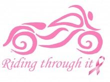 Riding Through It - Donating 10% back to breast cancer awarness, research and detection!