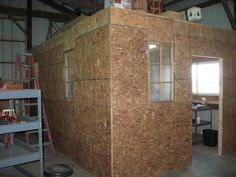 Adding A Room Inside Your Barn Can Give Extra Work And Storage E This Is The Second We Ve Added To Our Morton Building