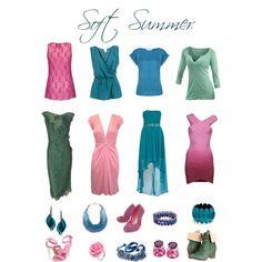 """Soft Summer Brights"" by sabira-amira on Polyvore"