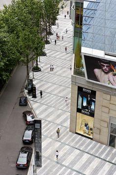 streetscape paving: