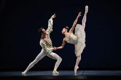 frances chung & taras domitro in balanchine's theme & variations | erik tomasson