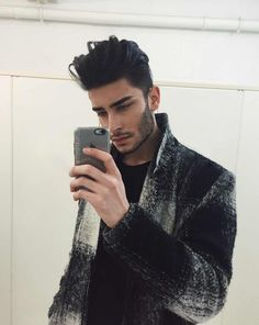 hair -I really thought this was like an unseen photo of Zayn Malik