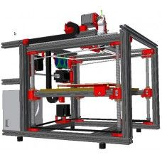 Cartesio is a feature rich profesional CNC router.   It supports a wide range of  tools ig. 3D-print extruder and engraver. Extreemly interesting... (still a bit expenceive...)
