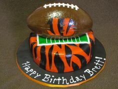 Image detail for -Cincinnati Bengals NFL Birthday Cake Cincinnati Bengals NFL Birthday ...