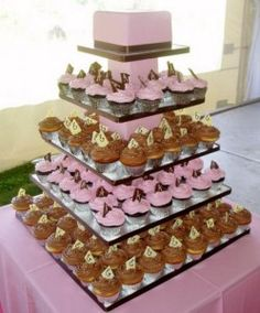 Big party cupcake stand...