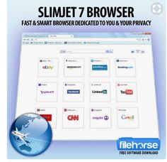 Slimjet Privacy browser, with pdf maker for webpage inside