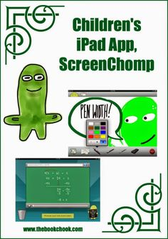 The Book Chook review: Children's iPad App, Screen Chomp #edtech