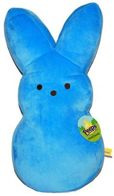"Cuddly Plush Peeps Easter Bunny 17""- Blue"