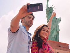 Varun Dhawan and Alia Bhatt starrer 'Badrinath Ki Dulhania' is operating sturdy on the field workplace. This movie marks Varun Dhawan and Alia Bhatt's third outing collectively after the profitable 'Humpty Sharma Ki Dulhania' and 'Pupil Of The 12 months'. It has garnered Rs. Four-Four.   #'American