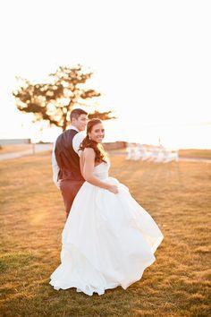 Seaside wedding, newport, RI Photo by Erin McGinn. jennie kay beauty. bridal hair. bridal makeup. half up style
