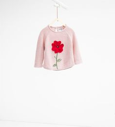 Poppy knit sweater-SWEATERS AND CARDIGANS-BABY GIRL | 3 months-3 years-KIDS | ZARA United States