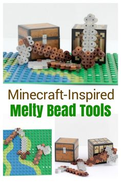 The Best Fall Crafts - Outdoor Click Easy Fall Crafts, Fun Arts And Crafts, Fun Crafts For Kids, Crafts To Make, Art For Kids, Kid Crafts, Minecraft Beads, Minecraft Crafts, Minecraft Mobile