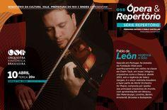 OSB Branding - Flyer for Concertos Especiais (special concerts).